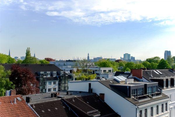 Exklusives Penthouse mit Balkon und Dachterrasse