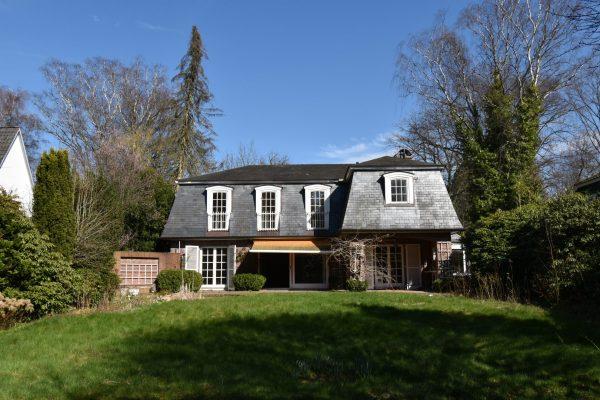 Einfamilienhaus mit nicht einsehbaren Garten