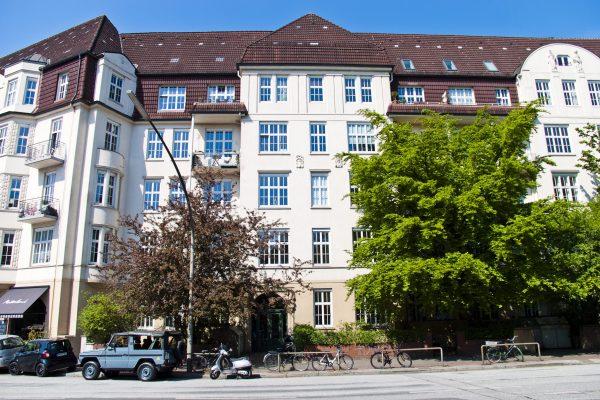 """5,5 Zimmer-Wohnung  im """"Eppendorfer Baum Palais"""""""